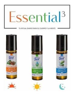 Kit Essential 3-just-tu Ritual Diario Para Tu Cuerpo Y Mente