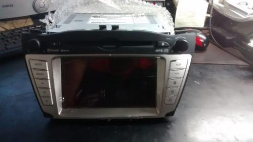 Imagem 1 de 5 de Radio Mp3 Disqueteira Original Hyundai Ix35 961702s340tan