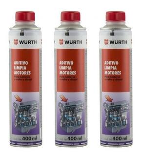 Aditivo Limpiador De Motor Wurth 400 Ml