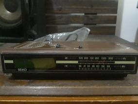 Radio Relogio Seiko Antigo Nunca Usado