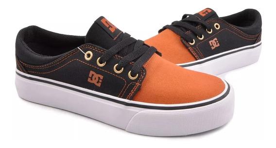 Tenis Dc Shoes Trase Textil Tallas 25cm Y 28cm