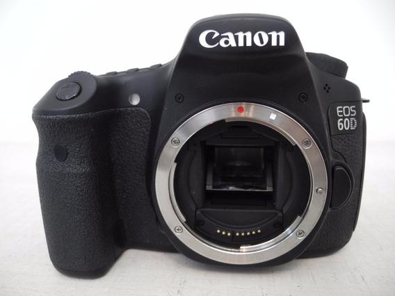 Canon 60d Pouquíssimos Cliques, Super Promoção - Semi-nova