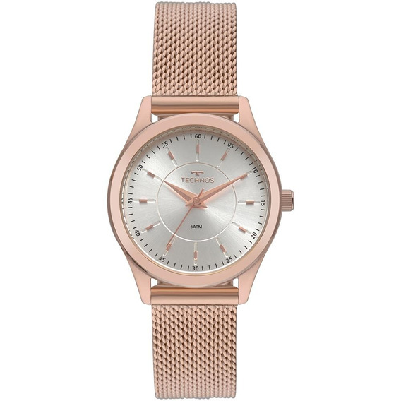 Relógio Feminino Technos Boutique Rosé - Original