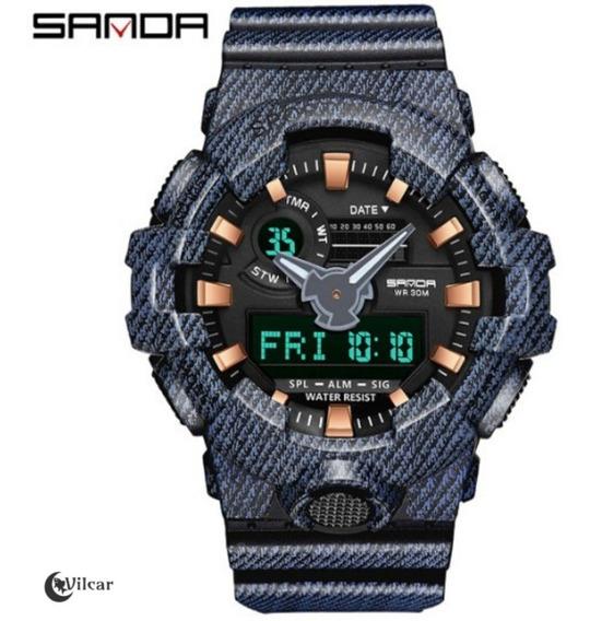 Relógio Masculino Sanda G-shock 700 Original Multi-funcional