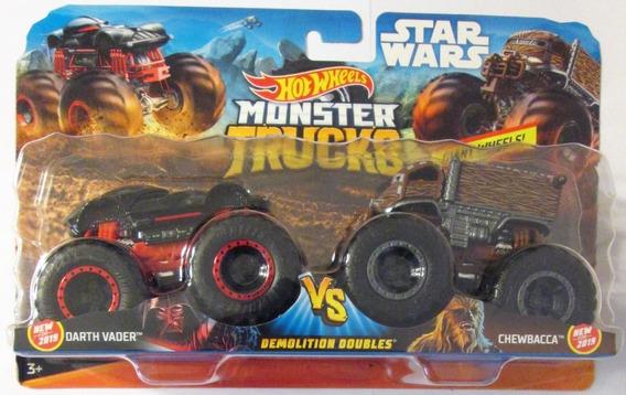 Hot Wheels Monster Jam Trucks Paquete De 2 Star Wars E/1:64