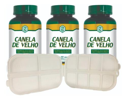 Imagem 1 de 3 de Kit Canela De Velho Mdk 3 Unidades + Brinde