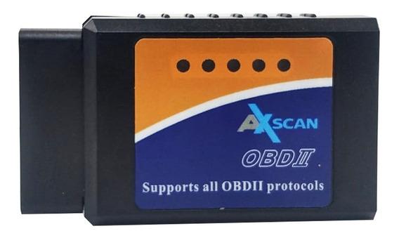 Scanner Automotivo V1.5 Axscan Elm327 Bluetoth Obd2 Nacional