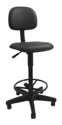 Cadeira Caixa Giratória Preta