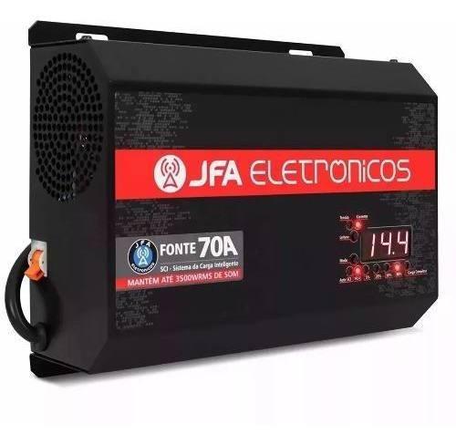 Fonte Jfa 70a Sci - Fonte Carregador Bateria Inteligent