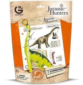 Dinossauros Colecionáveis - 1 - Geoworld Jurassic Hunters