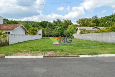 Terreno Plano No Condomínio Shambala Ii Em Atibaia - Te0346