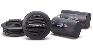Alpine Spr-10tw 1-inch Anillo Cúpula Audio Del Automóvil De