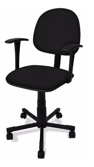 Cadeira Executiva Com Braço Fixo - Á Vista!! Frete Grátis