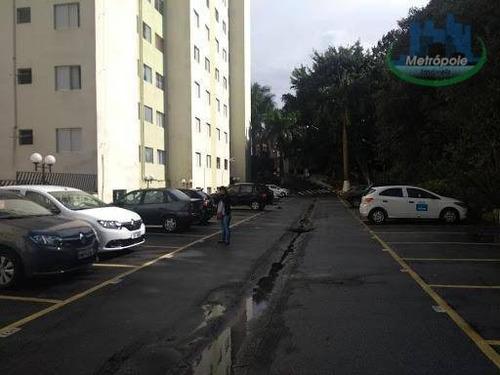 Apartamento Com 2 Dormitórios À Venda, 58 M² Por R$ 170.000 - Ap0816