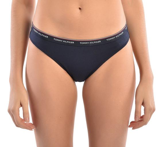 Paquete 3 Bikinis Tommy Mujer Uw0uw00043-012 Rojo, Azul, Bla