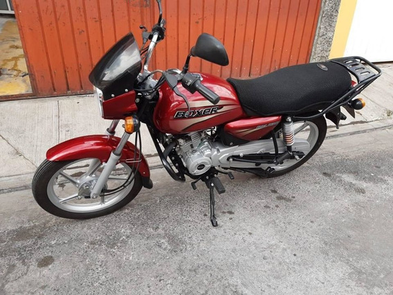 Bajaj Boxer 150cc Negra/roja