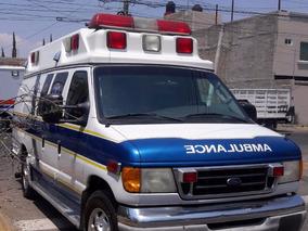 Ambulancia Tipo Ii Ford 2003 Traumahawk, Excelente Buenisima