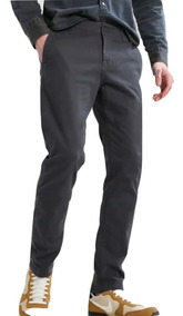 Pantalón Chino Gabardina Elastizado Premium Be Yourself