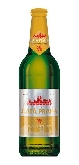 Cerveja Zlata Praha Pilsen 500 Ml