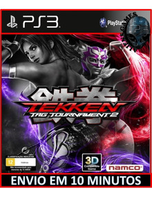 Tekken Tag Tournament 2 Ps3 Psn Envio Rápido Mídia Digital