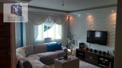 Sobrado Residencial À Venda, Jardim Utinga, Santo André. - So2662
