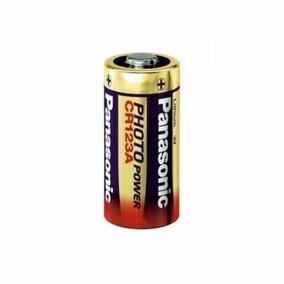 Kit 10 Baterias 3v Panasonic Lithium Cr123 Photo