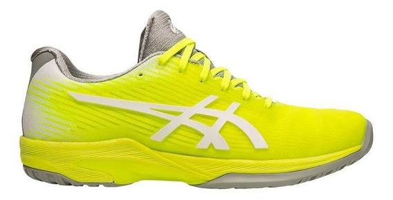 Tênis Asics Gel Solution Speed Ff Amarelo E Branco