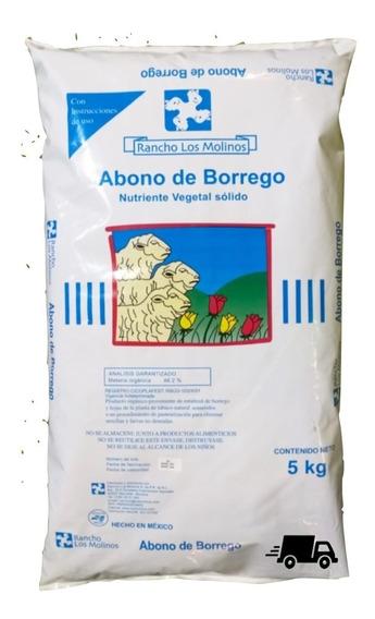 Fertilizante Natural, Abono Orgánico, Abono De Borrego 5kg