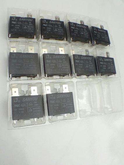 10 Pçs Rele Ar Condicionado Split Sfk112dm 20 A250v