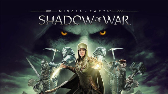 Middle Earth Shadow Of War (pc Steam, Joga Online)