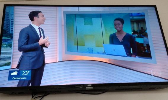 Smart Tv Aoc 50 P/4k Com Garantia Entendia 11/2021