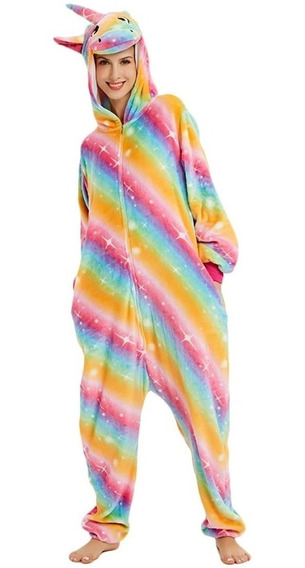 Pijama Kigurumi Enterito Infantil Unicornio Niña Importado