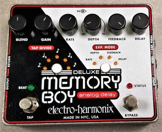 Electro-harmonix Deluxe Memory Boy Analog Delay Seminovo