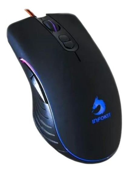 Mouse Gamer Elite Usb 6400dpi Xsoldado Gm-v550 Nf S/juros