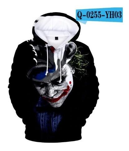 Blusa Casaco Moletom Adulto Coringa Joker 2019 Filme