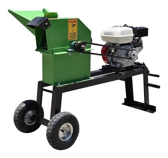 Picadora Para Verdes Y Secos Tecsa 1800 Con Honda Gp 160