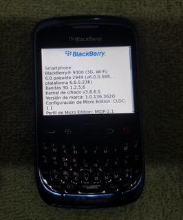 Blackberry Curve 9300, Liberados, Funcional, Sin Bateria.