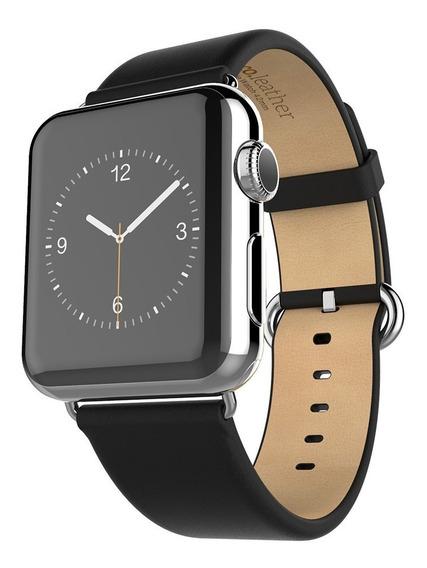 Pulseira De Couro 100% Genuíno Apple Watch 42mm Original