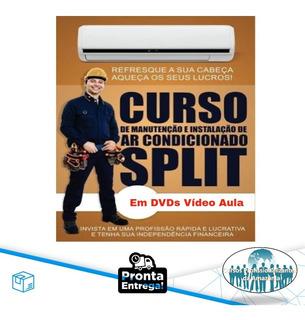 Curso Instalação De Ar Split 11 Dvds + Brindes Z1