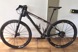 Bicicleta Cannondale F29 Carbon 3 Super Nova Roda Mavic