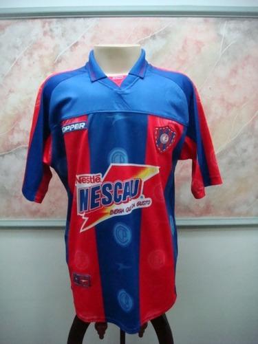 Camisa Futebol Cerro Porteño Paraguai Topper Jogo 2114