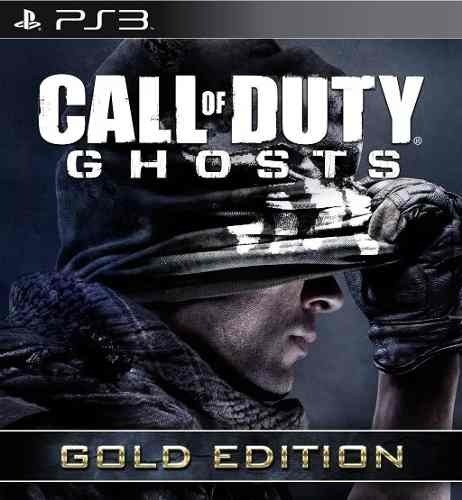 Call Of Duty Cod Ghosts Gold + Dlc - Jogos Ps3