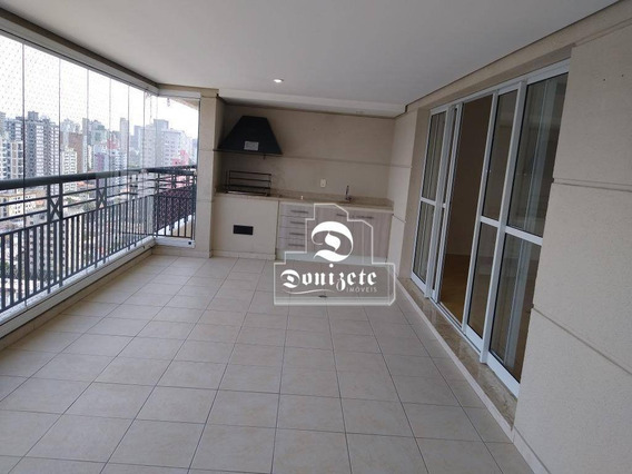 Apartamento Com 4 Dormitórios Para Alugar, 165 M² Por R$ 5.000,00/mês - Jardim - Santo André/sp - Ap13715