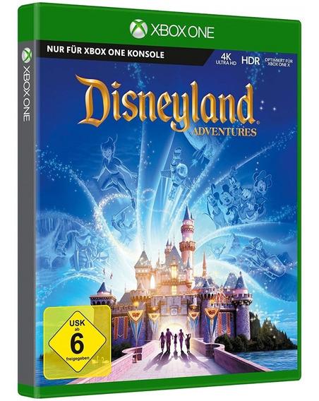 Jogo Disneyland Adventures Xbox One Midia Fisica Original Br