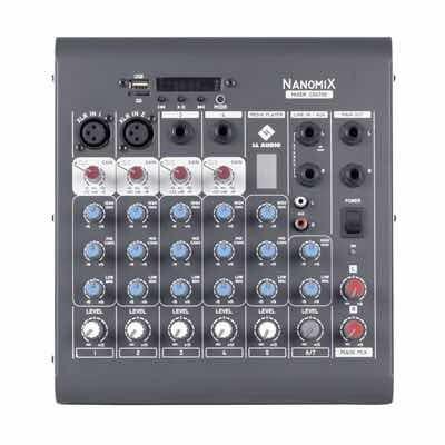 Mesa De Som 6 Canais Ll Audio Cdx702r