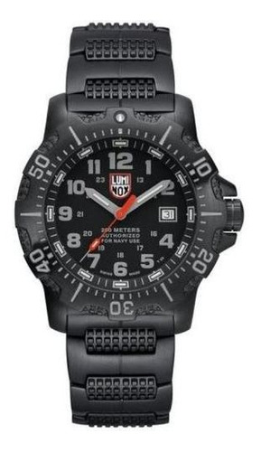 Luminox Sea Anu Steel Black Diver's 200m Watch Xs.4222