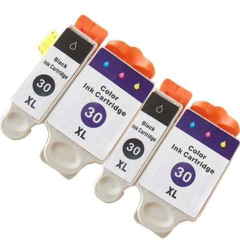 Cartuchos Compatible Kodak 30   Color Y Negro   3.2