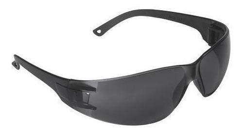 Lentes Gafas Seguridad Anteojos Proteccion Gris Ajustable