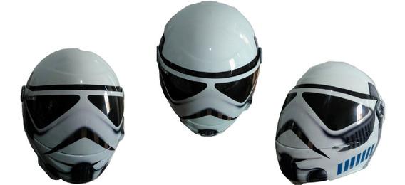 Capacete Pro Tork Fechado Personalizado Star Wars Com Brinde