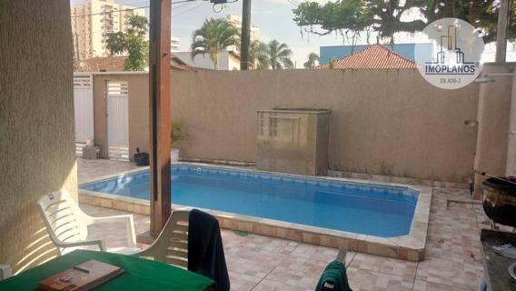 Casa Com 3 Dormitórios À Venda, 150 M² Por R$ 550.000 - Balneário Flórida - Praia Grande/sp - Ca0893